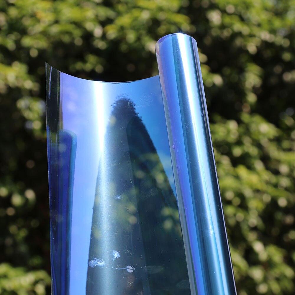 99 UV Proof Nano Ceramic Window Film Wrap Car Clear Glass Chameleon Color Self adhesive Stickers