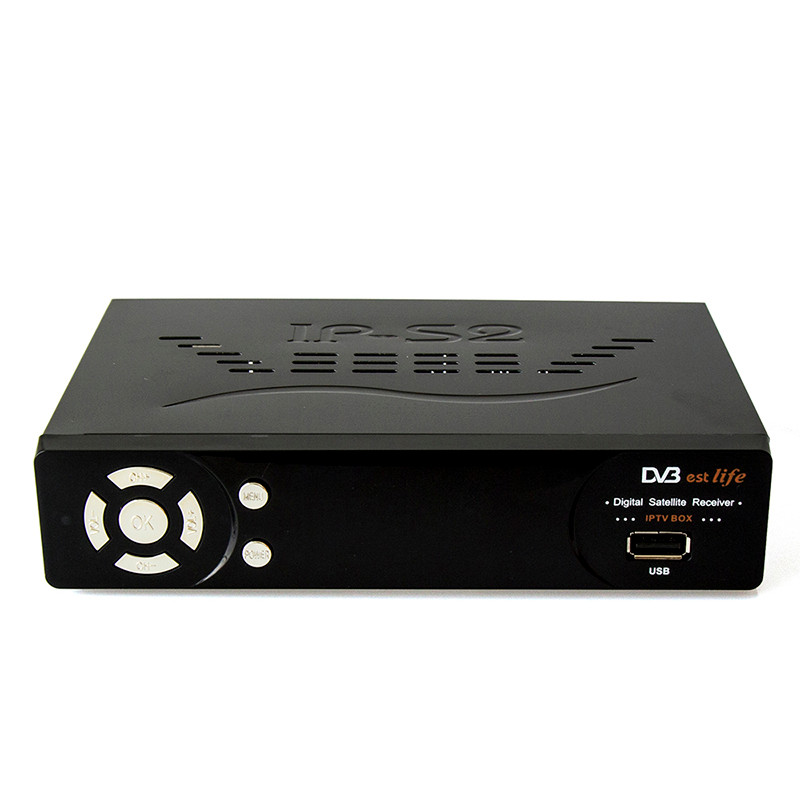 IP-S2 Plus Full HD 1080P DVB-S2  Digital Video Broadcasting Satellite Receiver with 1 year Italy/UK/Arabic IPTV subscription 1150 channels free iptv ip s2 plus smart tv box dvb s2 satellite receiver hd full 1080p 1 year europe arabic italian smart iptv