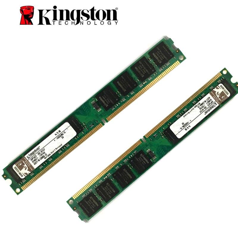 Kingston PC Mémoire RAM Memoria Module Ordinateur De Bureau DDR2 DDR3 1 gb 2 gb 4 gb PC2 PC3 667 800 1333 1600 mhz 5300 6400 10600 128