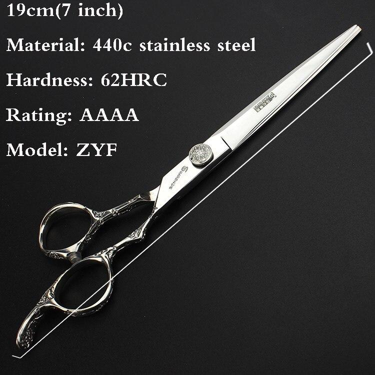 Ножиці для перукарень 7 дюймів - Догляд за волоссям та стайлінг - фото 2