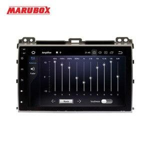"Image 3 - MARUBOX 2 Din Android 9.0 Eight Ocre 4GB RAM For Toyota Prado 120 Land Cruiser 9"" IPS GPS Radio Car Multimedia Player 9A107PX5"