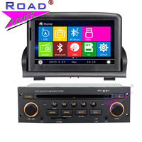 TOPNAVI Wince 6.0 Two Din 7 Car Multimedia Auto DVD Player Audio For Peugeot 307 New Stereo GPS Navigation Magnitol Bluetooth