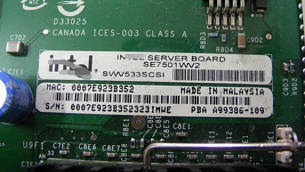 Server Motherboard For  SE7501WV2  320M SCSI RAID System Board Original 95%New Well Tested Working One Year Warranty пистолет для монтажной пены sturm 1073 06 03