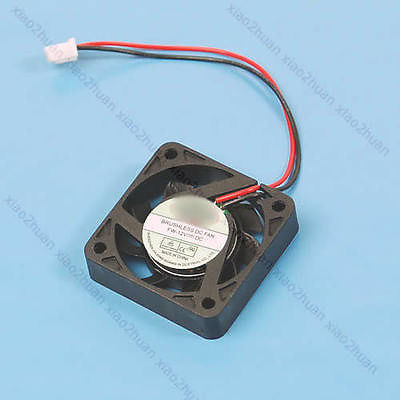 5pcs/lot DC 12V 2 Pin Brushless Cool Cooler Fan For VGA Graphics 4pin mgt8012yr w20 graphics card fan vga cooler for xfx gts250 gs 250x ydf5 gts260 video card cooling