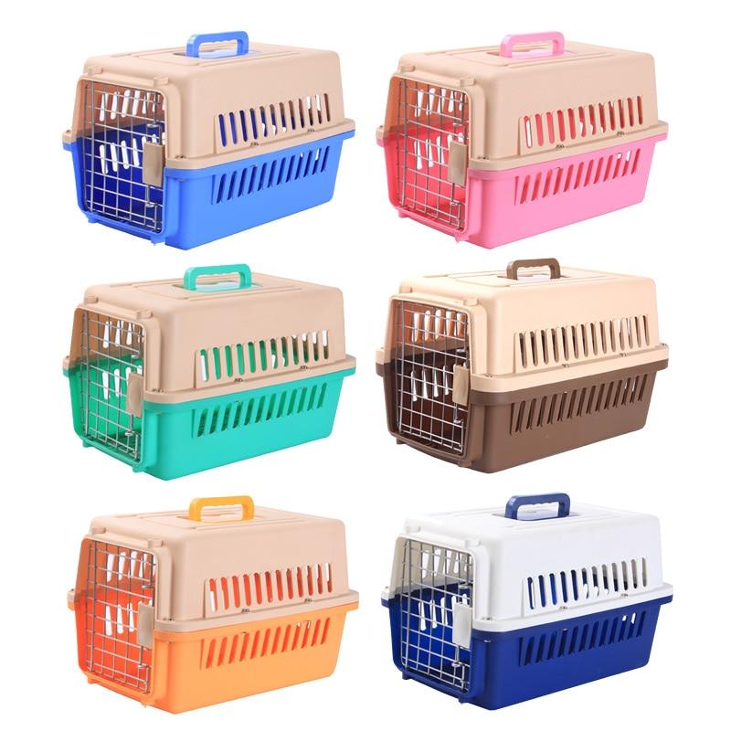 Pet Cat Carrier Box Pet Home Outdoor Travel Shoulder Box For Cat Puppy Pets House Kennel Pet Carrier Air Box Bag 6 Colors