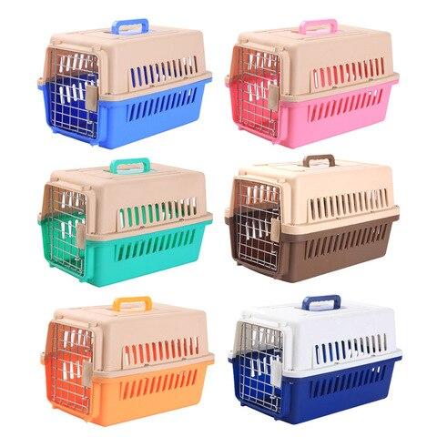 Caixa de Transporte de Gato para Animais de Estimação Casa ao ar Caixa de Ombro para Gato Filhote de Cachorro Animais de Estimação Portador de Animais de Estimação Bolsa de Caixa de ar Livre Viagem Casa Canil Portador de 6 Cores