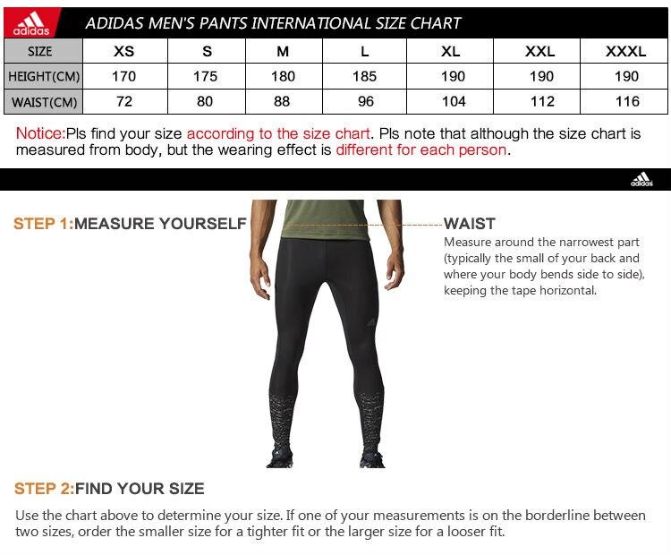 Adidas size chart for tiro pant also women rh moranprizes