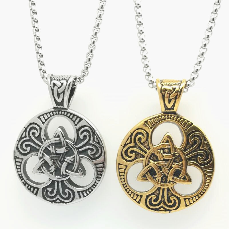 Looker Online Game Peripheral Accessories World of Warcraft Alliance Tribal Marks the Stainless Steel Necklace