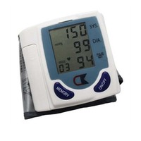 Promotion Automatic Digital Wrist Blood Pressure Monitor Heart Beat Meter