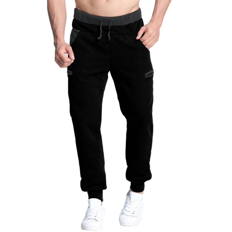Men Casual Pants Warm Velvet Sweatpant Mens Track Pants Long Baggy Lined Tracksuit Trousers Joggers Harem Pants Men Plus Size