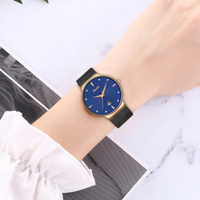 SUNKTA Women New Listing Watch Top Brand Luxury Quartz Watches Waterproof Clock Stainless Steel zegarek damski