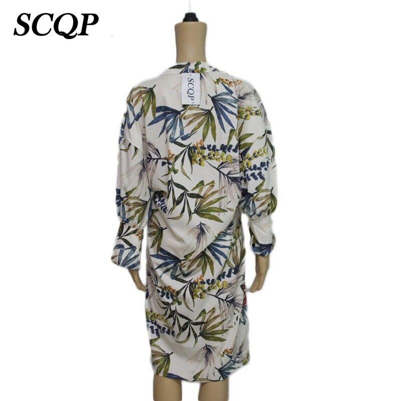 12e843aff SCQP Print Side Slit Ladies Kimono Cardigan Elegant Long Sleeve Loose Women  Floral Kimono Summer Casual Woman Fashion Kimonos-in Blouses & Shirts from  ...