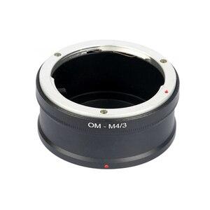 Image 2 - Adaptateur OM M4/3 pour monture dobjectif de caméra OM vers Micro 4/3 MFT GX1 EP5 E M5 EM1