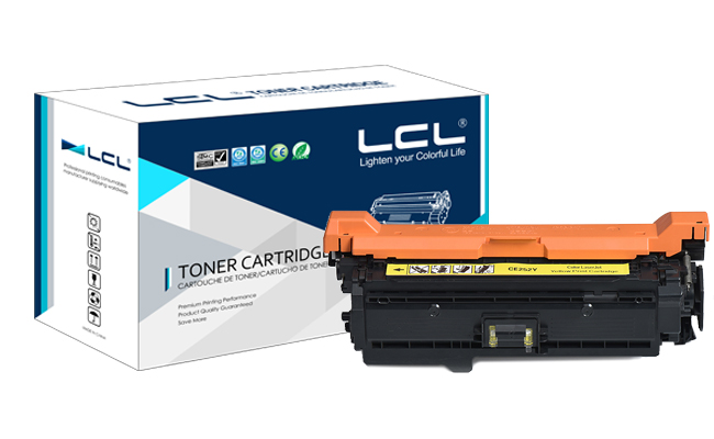 LCL  CE252A 504A CE 252 A CE252 252A  (1-pack) Laser Toner Cartridge Compatible for HP Color laserJet CP3525/CM3530 lcl any1 508x cf360a cf361x cf362x cf363x cf360x 508a 1 pack compatible toner cartridge for hp laserjet m553dn m553n m552dn