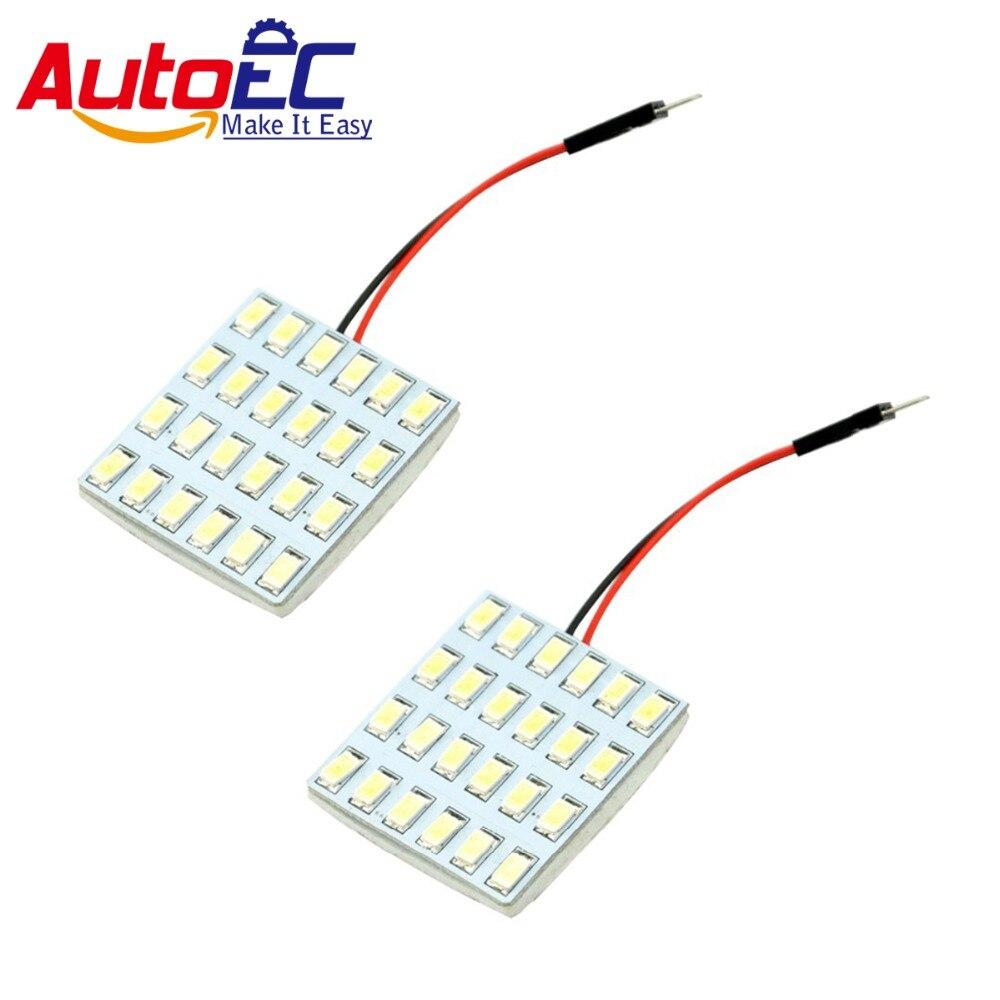 AutoEC 10x festoon dome light  T10 Ba9s 5630 5730 24smd led Car Panel LED Lamp Interior Room reading light Bulb #LL23