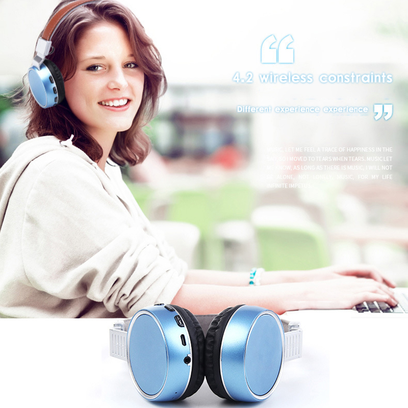 цена на KAPCIAE Plus Wireless Bluetooth Headphones/headset with Microphone/Micro bluetooth headphone/headset