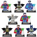 8 pcs Marvel Super Heroes Avengers Filme Batman Superman DC Super-heróis Figuras legoINGlys Lepine Building Blocks Brinquedos Compatível