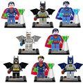 8 unids Marvel Super Heroes Avengers Película Batman Superman DC Superheroes Figuras Building Blocks Juguetes Compatible legoINGlys Lepine