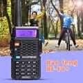 Baofeng f8 + dual band rádio amador vhf uhf 136-174 mhz 400-520 mhz walkie talkie presunto rádio transceptor de rádio em dois sentidos