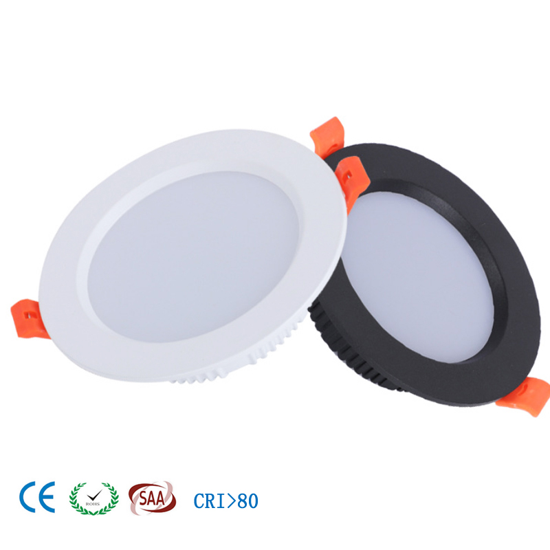 CRI>80 LED Downlight 3W 5W 7W 9W 12W 15W Thick Aluminum Recessed LED Spot Lighting  Bedroom Kitchen Indoor Led Down Light Lamp(China)