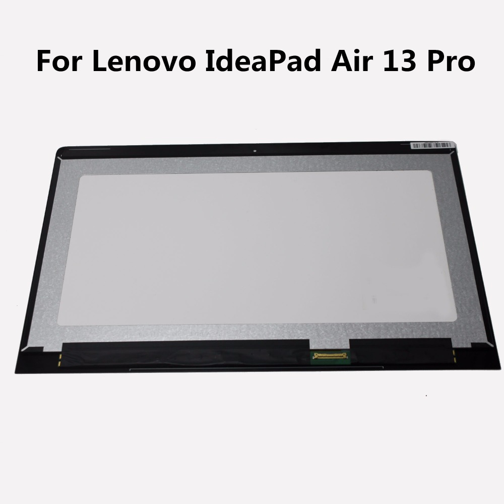 13.3 LED Display Panel front Touch Glass Assembly 1920x1080 Matrix Laptop LCD Screen For Lenovo IdeaPad Air 13 Pro NON-Touch laptop lcd lp140wf1 sp b1 for dell e7440 with touch lcd screen led display brand new 1920 1080