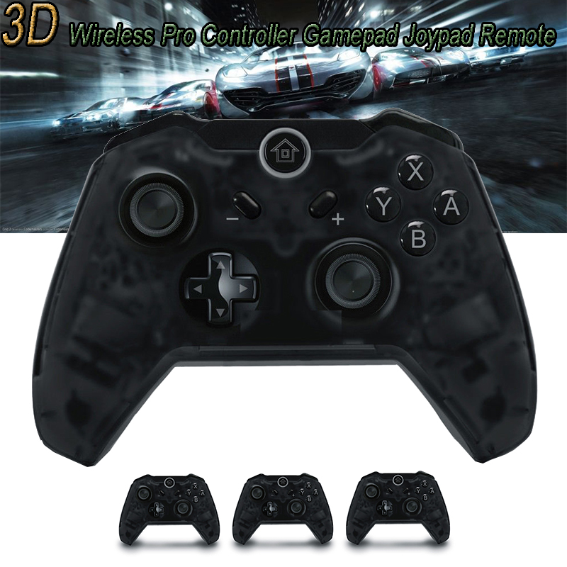 2 Style Wired Wireless Gamepad For Nintend Switch Transparent Black Joystick Console Gamepad Professional Remote Game Controller