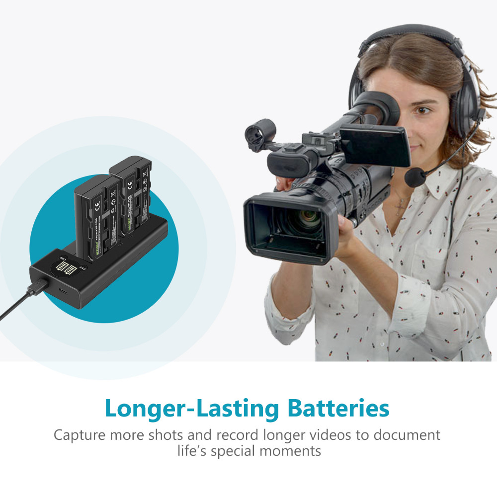 Replacement Battery /& Charger Set for Sony CCD-TR417E Digital Camera 2600mAh, 7.2V, Li-Ion