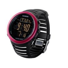 Мода Спорт Цифровые Часы мужские Часы FR720A4 Термометр Многофункциональный Фиолетовый
