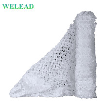 WELEAD Simple 1.5 Wide White Military Camouflage Net Outdoor Awning Garden Decoration Canopy Shading Arbor for Pergalo Gazebo welead army green simple camouflage net 3x3 2x3 outdoor awning garden decoration military camo network canopy concealment mesh