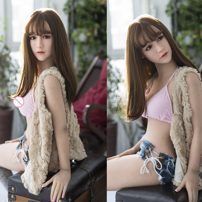 Adult Top Quality Real Silicone <font><b>Sex</b></font> <font><b>Dolls</b></font> <font><b>145cm</b></font> Small Breast Young Lady Lifelike Love <font><b>Doll</b></font> Oral Vaginal Anal Japanese Real <font><b>Doll</b></font> image