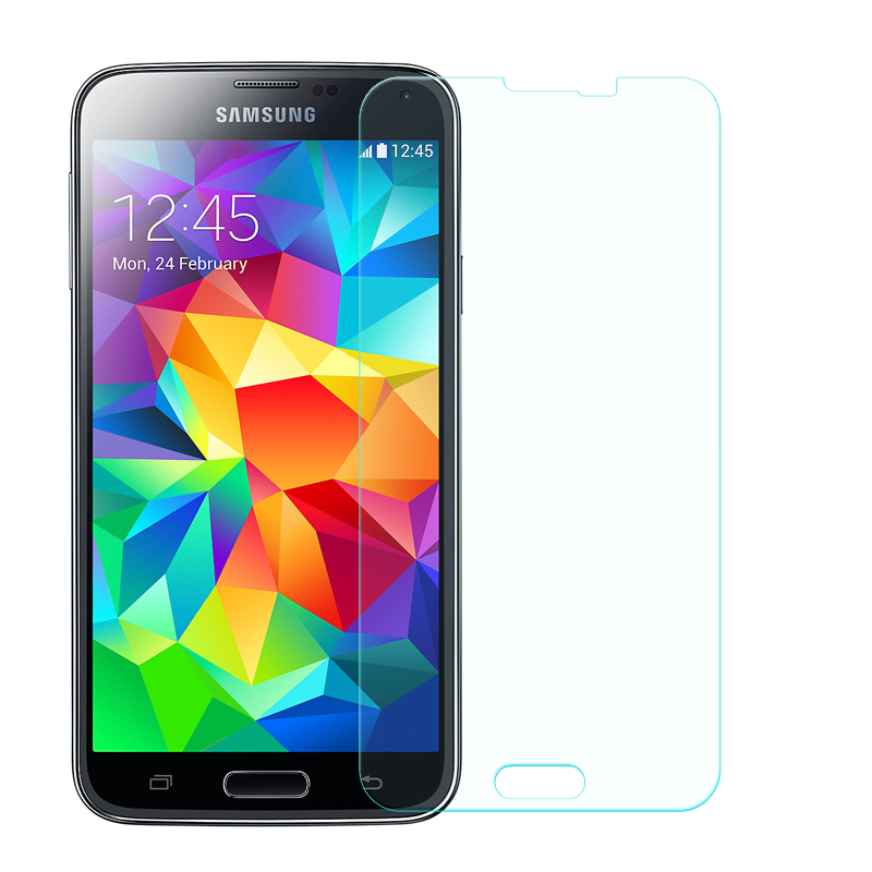 9H Tempered Glass For Samsung Galaxy J5 2016 J3 A3 A5 J1 Mini S6 S5 S4 S3 Mini Note 5 4 3 2015 2016 Screen Protector Glass Films in Fitted Cases from Cellphones Telecommunications
