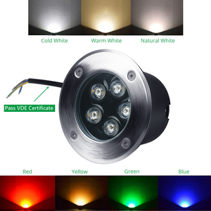 Image 4 - Floor Lamp LED Stair Lights 3W 5W 7W 9W 12W 15W 18W 24W 36W 85 265V 12V Recessed Deck Inground Garden Outdoor Lighting 10pcs/lot