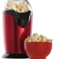 Popcorn Maker Machine Hot Air Popcorn Oil Wide Caliber Design With Cup And A Lid Fda Approved And Bpa Free EU Plug