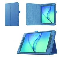Deri Samsung kılıfı Galaxy Tab Bir 9.7 inç SM-T550 SM-T555 SM-P550 SM-P555 tablet kapak Samsung Galaxy Tab Için Bir 9.7 kılıf