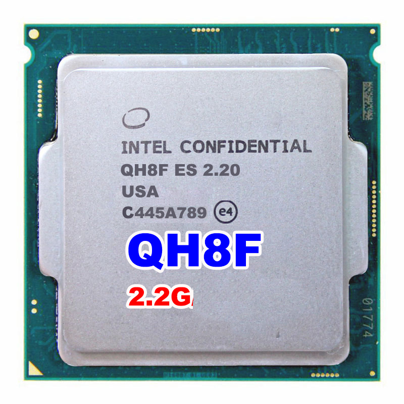 INTEL QH8F Engineering version ES of I7  processor CPU SKYLAKE AS QHQG  2.2GHZ quad core quad-core socket 1151 for intel core i5 3320m sr0mx notebook laptop cpu 2 6ghz l3 3m 5gt s pga official version original authentic processor