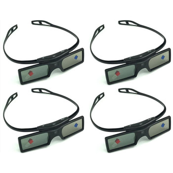 Okulary 3D aktywna migawka do Optoma Sharp LG Acer BenQ Acer Dell Vivitek G15-DLP DLP-LINK projektory DLP Link tanie i dobre opinie NoEnName_Null Brak Wciągające shutter 3D Glasses Okulary Tylko Pakiet 1