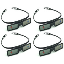 Óculos 3d ativo obturador para optoma sharp lg acer benq acer dell vivitek G15 DLP DLP LINK dlp link projetores