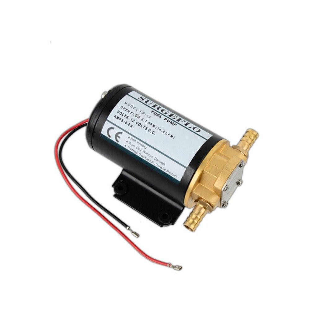 Pompe à essence Diesel auto-amorçante de pompe à essence d'huile à engrenages de 12 V DC Micro