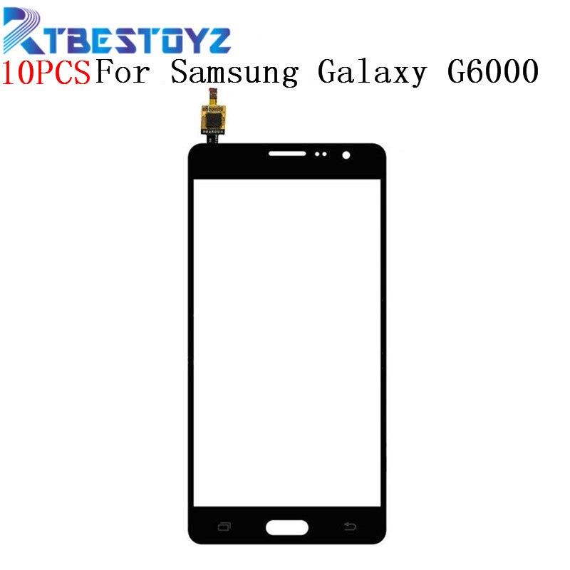 RTBESTOYZ 10 PCS/Lot 5.5 pouces écran tactile avec panneau numériseur en verre pièces de rechange de téléphone portable pour Samsung Galaxy On7 G6000