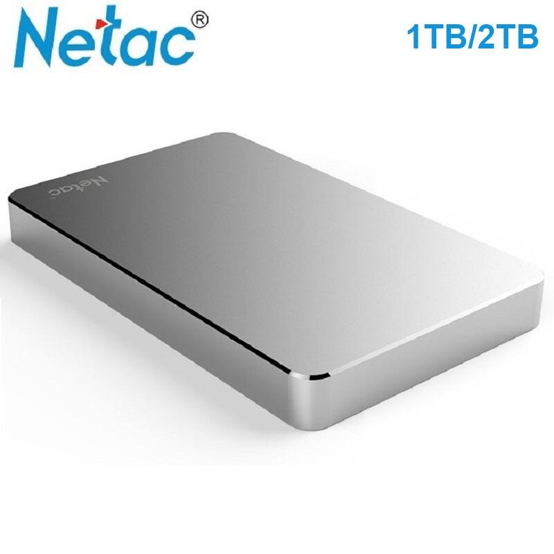 Netac external HHD 1tb K330 Original portable External Hard Drive High Speed HD Wholesale price Metal USB 3.0 Hard Disk usb 2tb netac blue 360gb