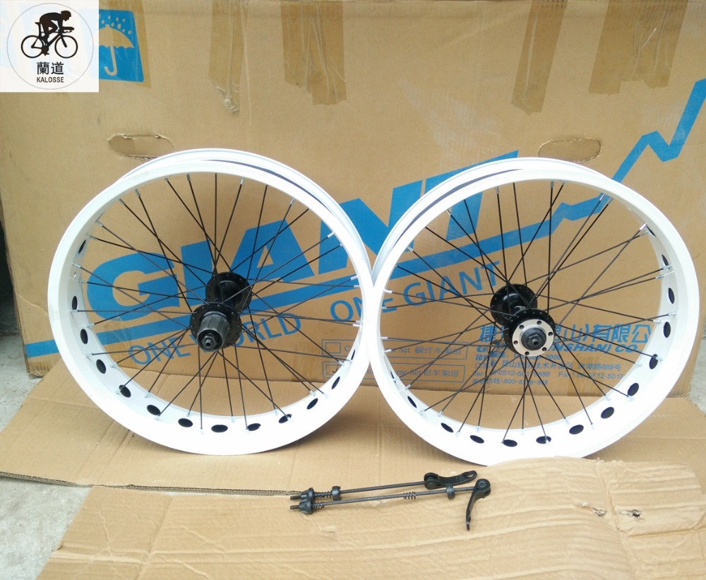 Kalosse 20 Inch 36 Holes 20 4 0 Wheels 7 8 9 10s Cassette Fat Bike F135 R190mm Hubs Diy Colors Snow Beach Wheel 20 Inch Wheels 20 Inch20 Inch Wheel Aliexpress