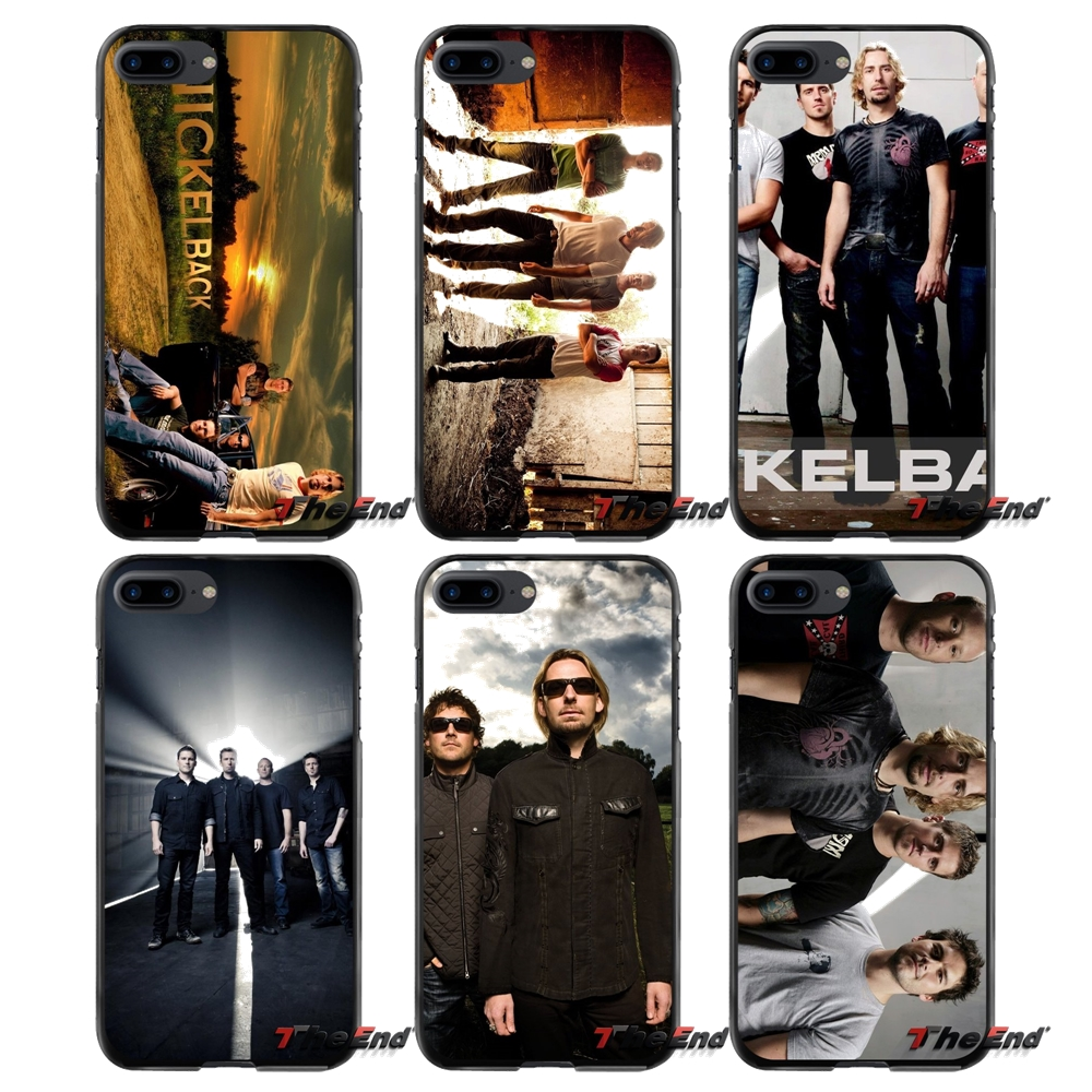 Nickelback For Apple iPhone 4 4S 5 5S 5C SE 6 6S 7 8 Plus X iPod Touch 4 5 6 Accessories Phone Cases Covers
