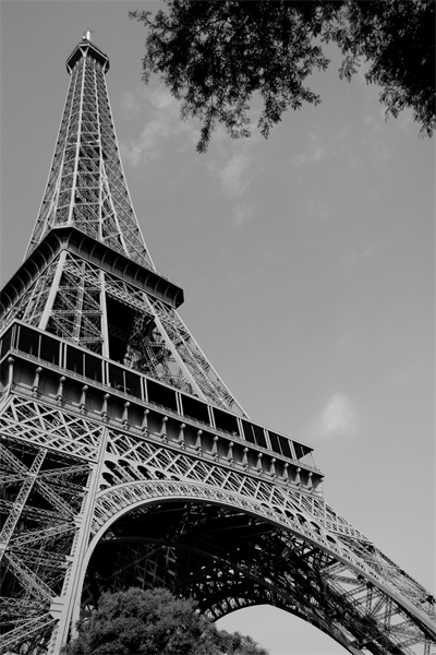 Free Shipping Custom Eiffel Tower Poster France Wall Sticker Paris