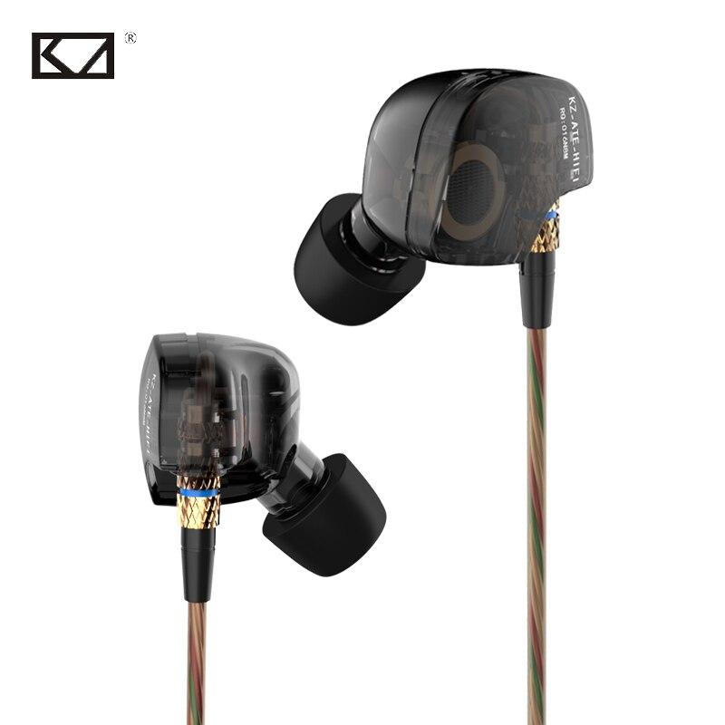 Fones KZ ATE Auricular estéreo profesional de alta fidelidad - Audio y video portátil - foto 1