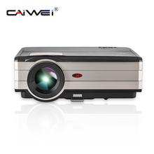 CAIWEI Digital LED Projector Home Theater Beamer LCD Projector Support HD 1080P Proyector Multimedia TV Game Smartphone Laptop