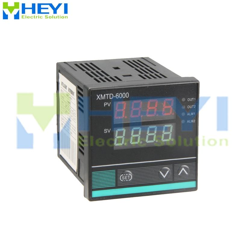 XMTD-6000 Temperature Controller Output Ramp Soak 1 Alarm Digital (can Set Multiple Segments Program)