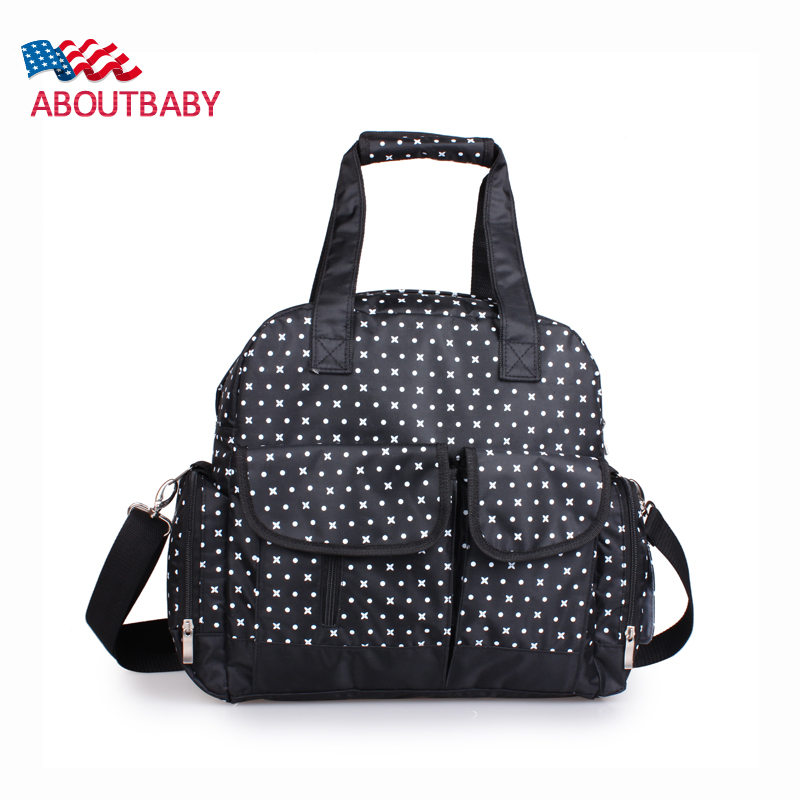 Mummy Bag 4 Colors Newest Fashion Large Capacity High Quality Waterproof Nappy Changing Diaper Bags Backpack Baby Stroller Bag  цена и фото