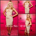 Erin Heatherton Sexy Halter Sleeveless Short Satin 2017 Homecoming Dresses