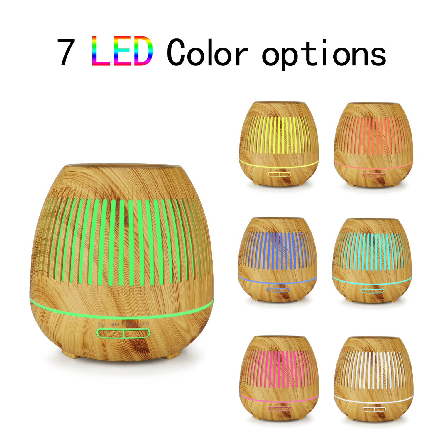Essential Oil Diffuser Office Home Bedroom Living Room Study Yoga Spa Cool Mist Humidifier Ultrasonic Aromatherapy Diffuser