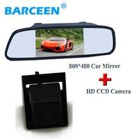 High Resolution Car Backup Reserve Monitor Lcd Display 170 Angle Car Parking Camera Adapt For